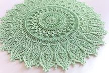 Crochet Doilies / Crochet doilies table runners / by Jenny Malone