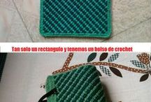 bolsos de ganchillo / crochet bags magazines or surfing the internet