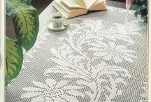 Crochet Filet / Filet Crochet / by Jenny Malone