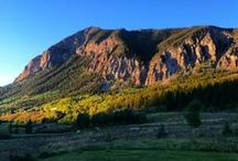 Our Mountains / Nestled in the Elk range of the Colorado Rockies, Crested Butte is surrounded by majestic peaks.