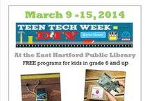 Teen Tech Week 2014 / Teen Tech Week at the East Hartford Public Library / by East Hartford Public Library