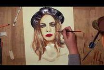 ♦ My Videos ♦ / Speedpaintings of my art.