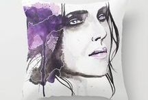 ♦ My Shop ♦ / Buy my art as print, on canvas, on shirts or clocks or whatever you want. :)