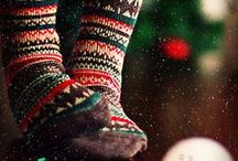 Winter socks / Winter socks to keep you warm. Colourful, beautiful, elegant, fun. It's all about socks!