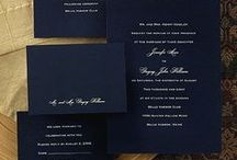 Bridal - stationery