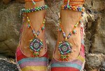 Shoes, decoration, etc / shoes, anklets