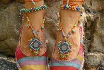 Shoes, decoration, etc / shoes, anklets