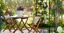 Gardens / I absolutely adore The Secret Garden and I'd love a beautiful little space of my own one day. Here are some of my favourite fanciful ideas for gardens.