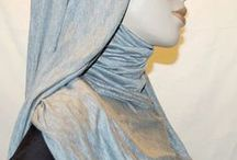 AL-MUJALBABA HIJABS, WRAPS AND KHIMARS / Various types of hijabs sold and or manufactured by Al-Mujalbaba, New York