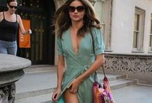 Miranda Kerr teaches us about fashion