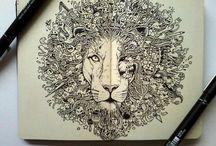 Molskine art