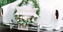 Get Away Cars / Our suggestions for Wedding Get Away Cars - which one suits best your wedding spirit?