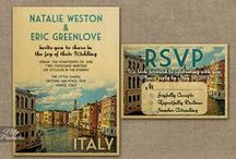 Creative Wedding Invites / A selection of best creative wedding invites!