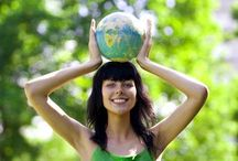 { Love the Earth } / ~ greening your life  for a brighter future ~
