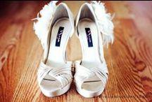 Brides Shoes / Bride shoe idea and inspiration.