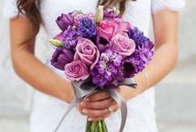 Purple Wedding Inspiration / Ideas inspired by Pantone Color of the Year 2014. See also www.exclusiveitalyweddings.com/blog/radiant-orchid