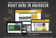 Magazine Ads / Here are just a few of the ads that have been included in Aberdeen Magazine. All designed by McQuillen Creative Group. Let us know if you would like us to do your next ad design! Call 226-3481.