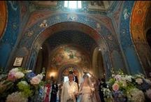 Orthodox Wedding in Italy / Ideas and locations for a Russian Orthodox wedding in Italy from the planners of Exclusive Italy Weddings.