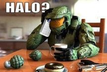 Halo / Halo with Master chief and some RvB (Red vs Blue)