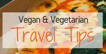 Vegan & Vegetarian Travel Tips / Vegetarian abroad. Vegan abroad. Clean eating Abroad. Vegetarian while Travelling. Vegan while Travelling. Veggie Abroad. Travelling while Veggie. Vegetarian Guide. Vegan Guide. Vegetarian Dining. Vegan Dining.