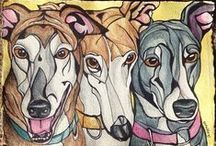 Artwork: Custom Pet Portraits from Photos / Each intuitive custom #petportrait - dog art, cat art, and horse art pet portraiture from photos - includes its own timelapse video AND an animal communication message. FOR COMMISSIONS: http://heartfullpets.com/order-pet-portraits/    mellie@magicwithmellie.com / (814) 791-5683