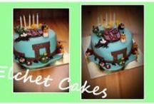 Elchet Cakes / Dortíky z mé tvorby :) některé inspirované , jiné autorké :)