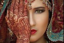 Henna beauty / Cultural heritage