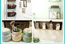 Home Organization / Tips, Tricks, and Ideas to keep the chaos contained, for the most part!
