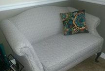 Upholstery / Tips, Tricks, and Tutorials for using fabric to re-do furniture