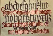 Blackletter / Tipografía Gótica