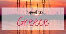 Travel to Greece! / Travel Inspiration for Greece. Greek Islands. Europe. Santorini. The Balkans. Athens. Rhodes. Corfu Island. Mykonos. Thessaloniki. Oia. Skopelos. Mamma Mia Film Locations in Greece.