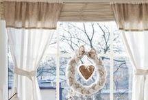 ✿⊱  Dekoracje okna  ✿⊱