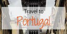 Travel to Portugal! / Travel Inspiration for Portugal. Lisbon. Porto. Algarve. Sintra. Faro. Madeira. Belem. I visited Lisbon, Portugal in May 2016.
