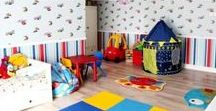Loftez Kids Play Room / Ideas to design your kids play room so that they can fully enjoy themselves while playing in the ever lively play room.