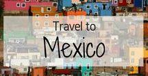 Travel to Mexico! / Travel Inspiration for Mexico. Mexico City. Day of the Dead. Cancun. Playa del Carmen. Tiajuana. Riviera Maya. Isla Mujeres. Guanajuato. Cabo. Tulum. Coyoacan. Oaxaca. Merida. Tucatan Peninsula. Chichen Itza. Cenotes. Pink Lagoon in Las Coloradas. Holbox. Yucatan Peninsula. Cozumel. Xochimilco. Guadalajara. Akumal. Baja.