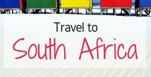 Travel to South Africa! / Travel Inspiration for South Africa. Africa. Cape Town Johannesburg. Pretoria. Kruger National Park. Port Elizabeth. Table Mountain. Stellenbosch. Robben Island.