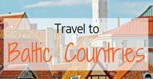 Travel to Baltic Countries! / Travel Inspiration for Baltic Countries. Estonia. Latvia. Lithuania. Tallinn. Riga. Vilnius. Parnu. Tartu. Daugavpils. Jurmala. Klaipeda. Kaunas. Tallinn Christmas Markets. Riga Christmas Markets.