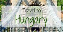Travel to Hungary! / Travel inspiration for Hungary. Budapest. Danube. Lake Balaton. Széchenyi Thermal Bath. Buda Castle. Pest. Fisherman's Baston. Debrecen. Szeged. I visited Budapest, Hungary in March 2013.