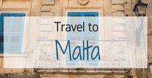 Travel to Malta! / Travel inspiration for Malta. Valletta. Gozo. Sliema. Blue Lagoon Malta. Game of Thrones Film Locations in Malta. Azure Window. I visited Malta in January 2018.