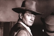 "John Wayne / ""The Duke"". The man, the legend. The epitome of what I believe every red blooded American male ought to be. My Hero. Though he made many films, I always liked him best in a Western.  / by Laura Lang"