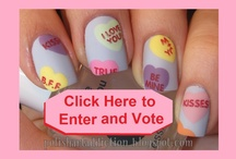 Beautometry.com Saint Valentine's Day Nail Art Contest / Official rules can be found here:  http://polishartaddiction.blogspot.com/2013/02/v-day-nail-art-contest.html