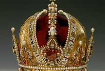 German & Austrian royal jewels / jewelry royalty king queen tiara diamond