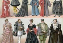 16th century men's wear costume clothing LDVF / During time of les derniers Valois Renaissance 16th century