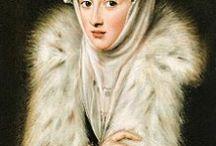 16th century Spain  & Les Derniers Valois LDVF / Queen Elisabeth de Valois her daughters Isabella Clara Eugenia and Catalina micaela Habsburg Hapsburg archduchess Spain Philip ii family