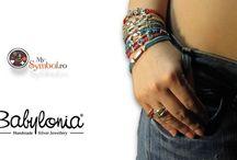 Babylonia bracelet / Babylonia bracelets @ www.mysymbol.ro