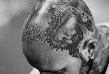 Bald Head Tattoos / Bald head tattoos