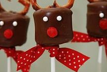 Christmas Treats and Decorations / Christmas treats and decorations - Holiday Treat Ideas - Festive Holiday Food