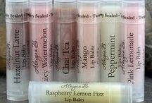 Kissable / Flavored Lip Glosses, Lip Balms, etc. / by Laura Lang
