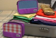 Small Packing Cubes / Packing cubes that minimize wrinkles on your clothes, maximize luggage space, maintains your privacy during security inspection and make packing and unpacking easier and fun!