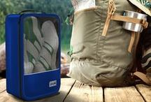 Shoe Packing Cubes / Keep dirty shoes away from your clean clothes during travel